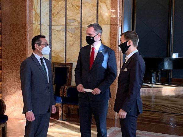 布拉格市长:深化与台伙伴关系 聚焦科技教育