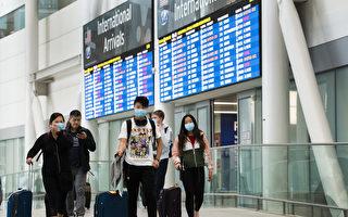 兩週內 飛抵加拿大旅客上百人檢測呈陽性
