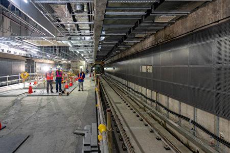A22站工程進度順利。