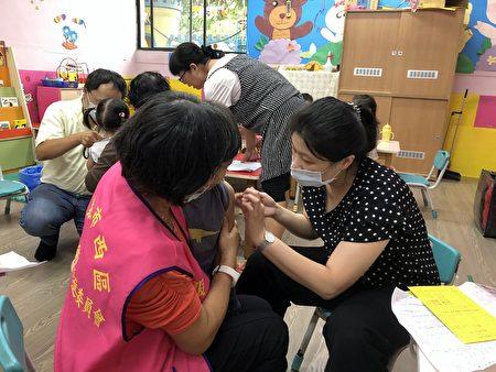 流感疫苗注射。