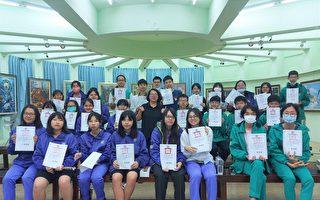 竹高美术班学生义卖创作 所得捐助流浪动物