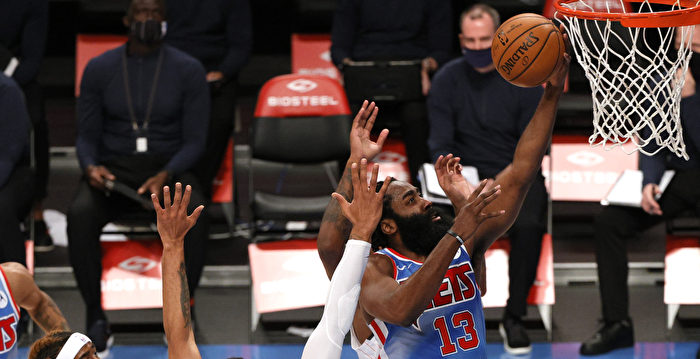 NBA哈登繳大三元 杜蘭特創本季新高