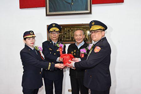 苗栗縣警察局卸、新任局長交接典禮。