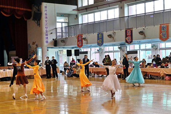 全國舞蹈公開賽暨台灣AL國標舞嘉義熱情開賽