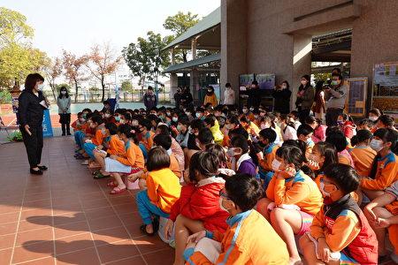 市長黃敏惠給學生的勉勵。