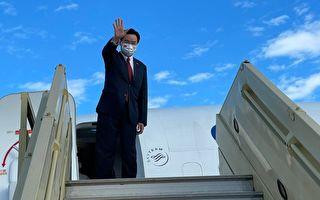 吳釗燮赴帛琉總統就職典禮 旅遊業隨團考察