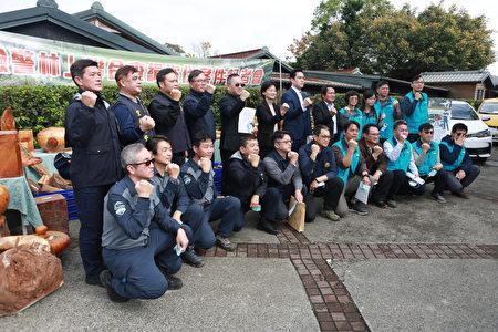 宜蘭地檢署指揮偵辦,「檢、警、林聯合查緝機制」共同執行「滅鼠專案」人員。