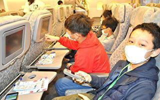 学童体验醒吾机舱  一日机长豪语载蔡总统出访