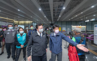郑文灿视察机捷A7站防疫  落实员工乘客零感染