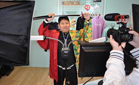 興國國小5年級學童許駿彥人小志氣大,長大當網紅賺大錢,再行善幫助別人!