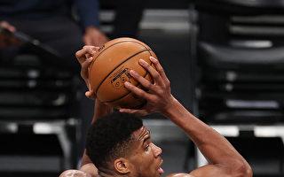 NBA雄鹿退老鹰止连败 字母哥1万1000分达阵