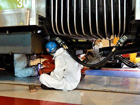 中捷預計2月2日全數完成軸心組裝、2月9日完成運轉測試。