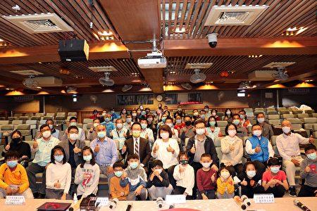 国中小学校座谈会在世贤国小大合照。