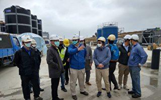 新竹紧急海淡机组将完成 赖建信慰勉施工团队