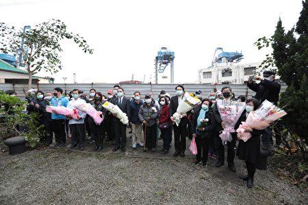 太平輪海難72週年追思活動。