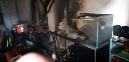 此次火災案例就是水族箱惹禍。