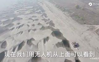 长江遭遇近百年罕见枯水期 支流见底如荒漠