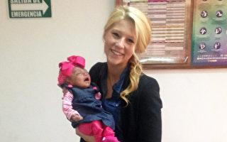女子收養腦部僅為3%的棄嬰 給她短暫的家