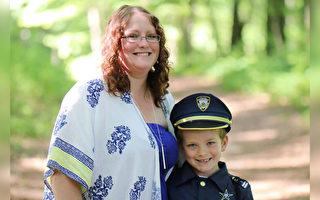「我像閃電俠」7歲男童勇救被狗攻擊的媽媽