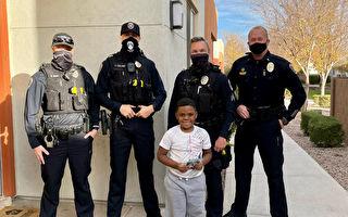 美6歲童錢包被盜超心疼 警員如數贈一新的