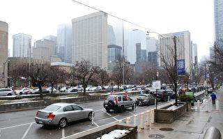 多倫多舉行支持川普盛大汽車遊行