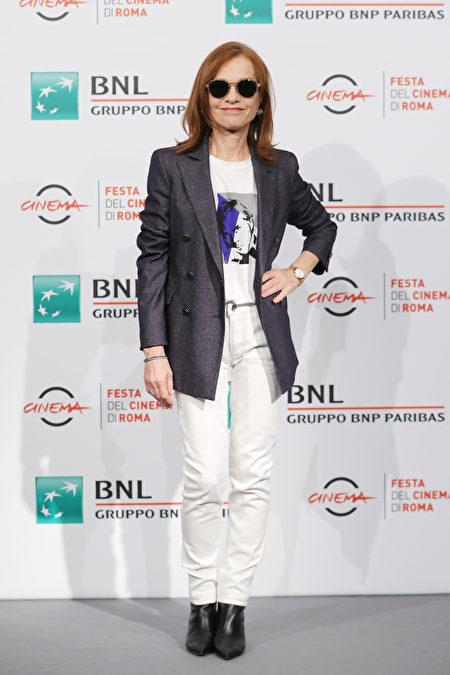 Isabelle Huppert, 影展, 时尚, 演员