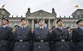 德聯邦國防軍去年新兵數量下降18%