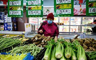 临近黄历新年 大陆食品价格同比环比均上涨