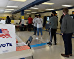 組圖:喬治亞州選民進行參議員決選投票