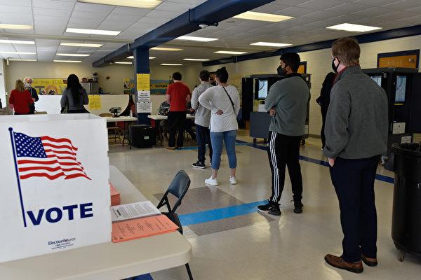组图:乔治亚州选民进行参议员决选投票