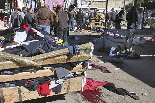 伊拉克突发两起自杀炸弹客袭击 逾32人死