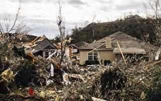 組圖:龍捲風襲擊阿拉巴馬州 1死數十人傷