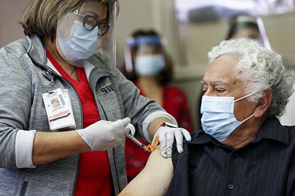 圣地亚哥县75岁以上老人可开始疫苗接种
