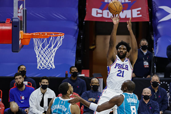 NBA费城76人焕然一新 排名暂居东部第一