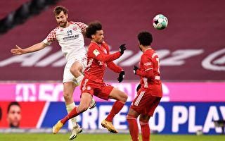 德甲第14輪:拜仁半場5球 主場逆轉美因茨