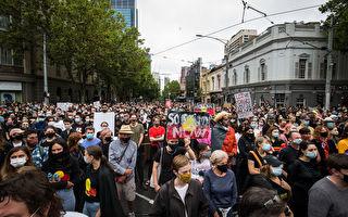 澳洲各首府出现反国庆日抗议 悉尼四人被捕