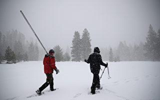 圣塔克鲁兹山解除撤离令 内华达山续发暴风雪警报