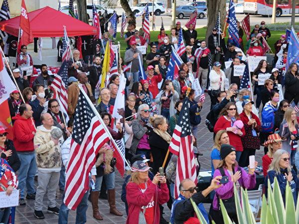加州选民支持川普:让更多人知道真相