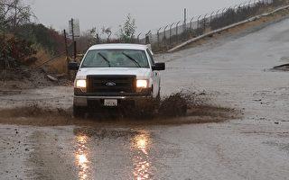 南加多地发布洪水泥石流警报