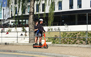 首都跨年假期多名電動滑板車騎手違章被罰