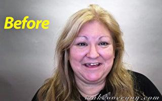 美國患癌祖母經「改頭換面」 造型驚豔