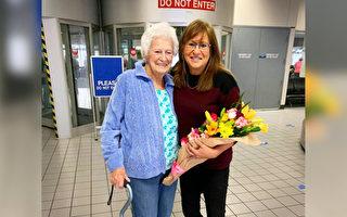 """""""值得感恩""""德州妇女62年来首见亲生父母"""