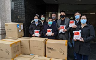 顾雅明开始向社区分发5.4万个口罩