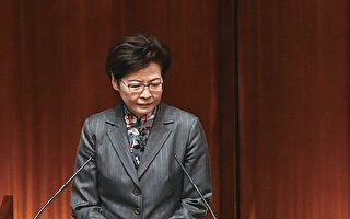 林郑月娥评分跌至29分