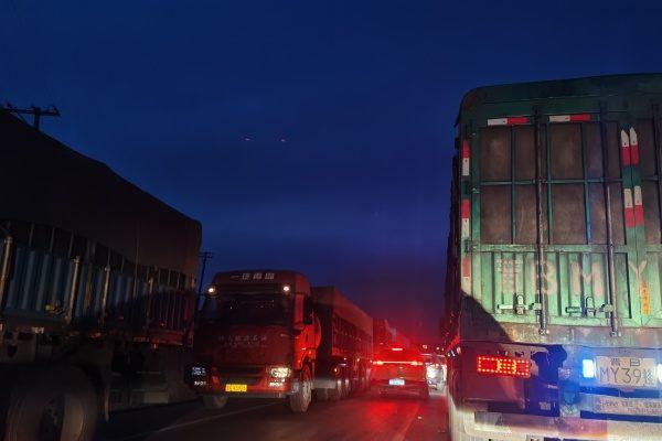 【一線採訪】河北貨運司機遭歧視 被困車裡
