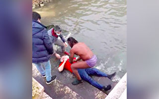 葡萄牙男子勇救溺冰水老者 获总统亲自感谢