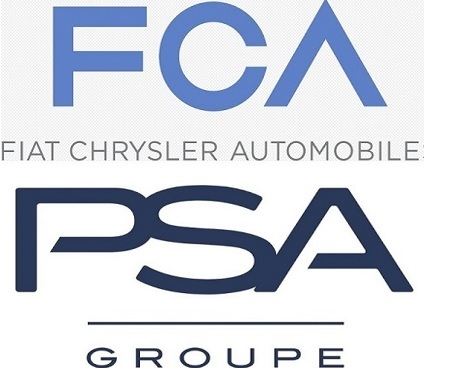 FCA與法國PSA將合併成世界第4大汽車公司
