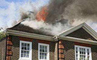 看到邻居家失火猛敲门 美国女子救一家六口