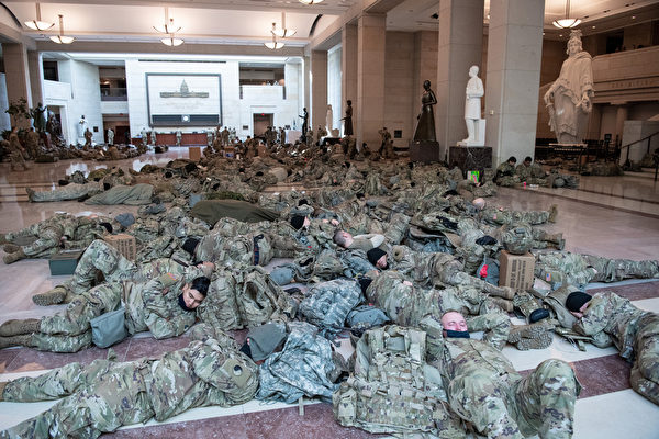 國民警衛隊為何留守華府 議員促國防部解釋
