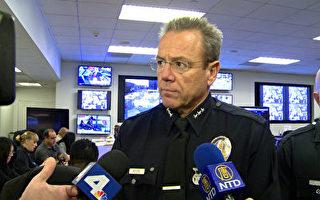洛市警局新增感染减少 迄今8人死亡